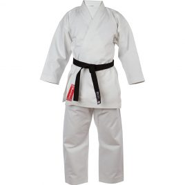 Adult-Silver-Tournament-Karate-Suit-Front